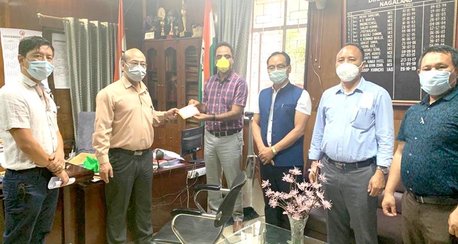 FONSESA Members with DC Dimapur