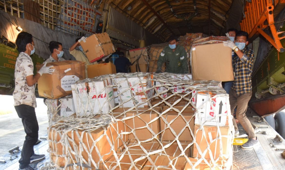 IAF airlifts 2nd consignment of medical load for Nagaland