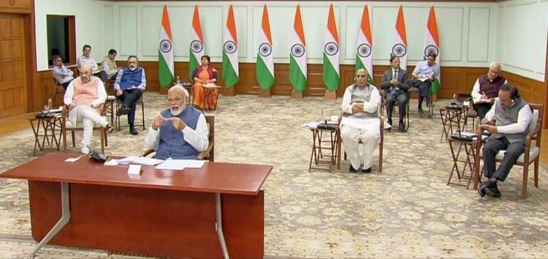 Focus on testing, tracing, quarantine; formulate 'staggered' exit strategy from lockdown: PM to CMs