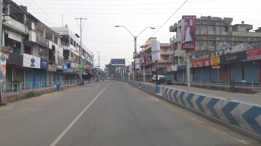 Restriction on movement of public in Dimapur extended till April 5 midnight