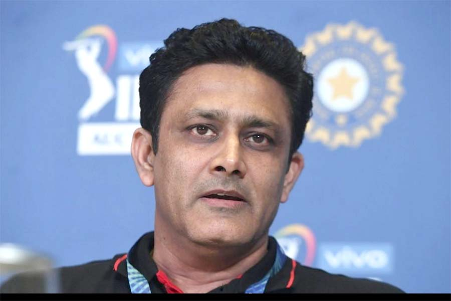 Interim measure, it will be back to normal once COVID situation under control: Kumble on saliva ban