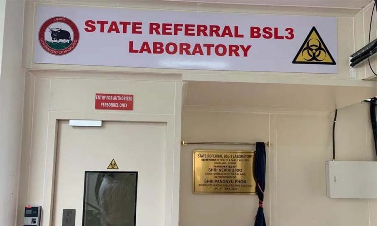 BSL 3 lab in Kohima
