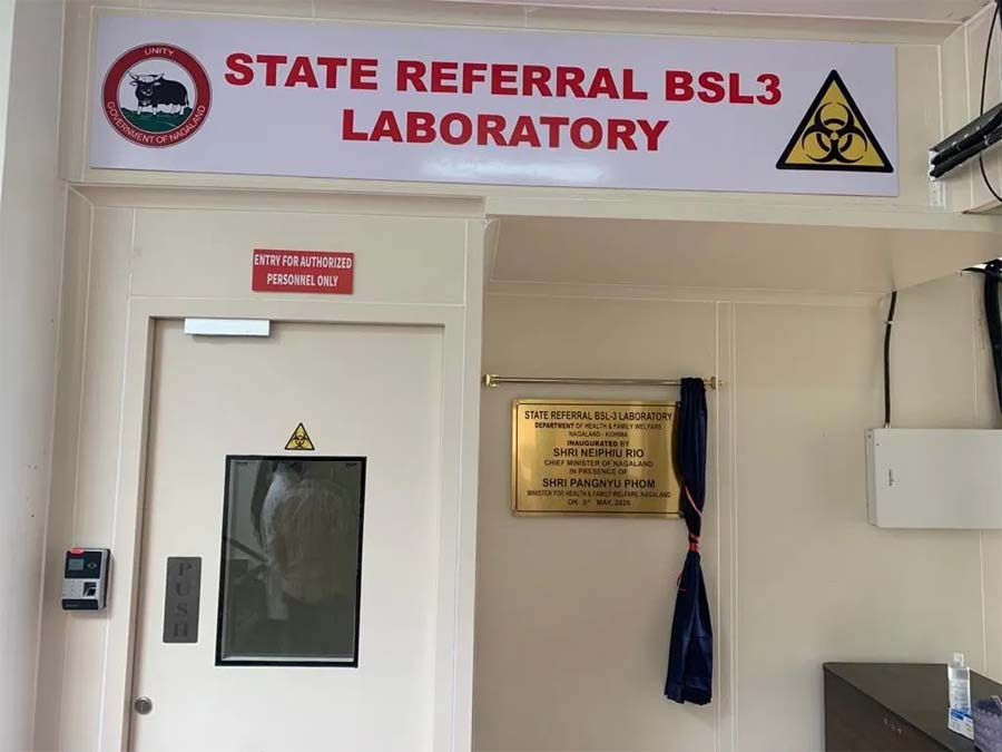 Nagaland's BSL-3 lab conducts COVID-19 test