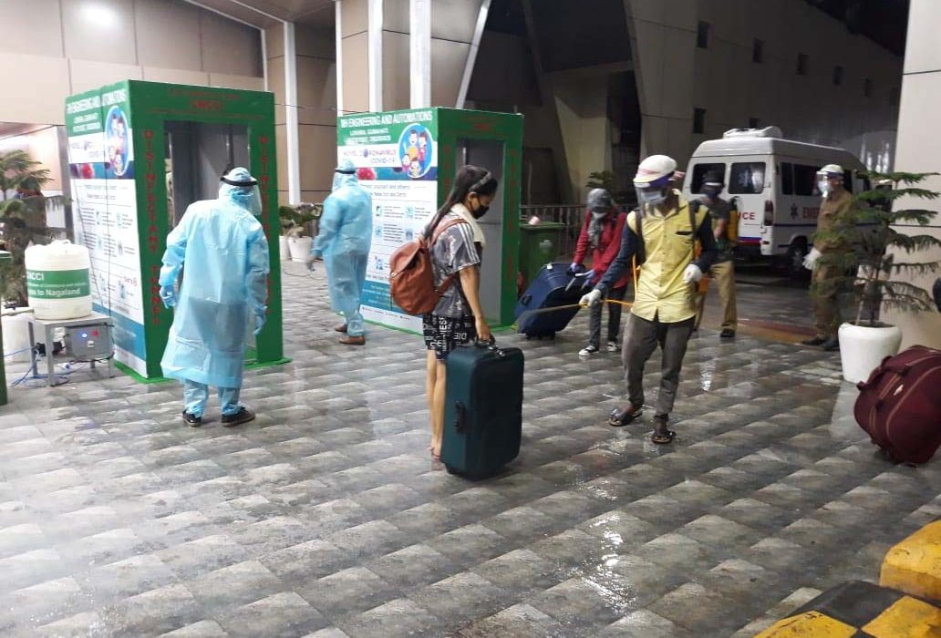 1463 stranded persons from Chennai reach Dimapur;1550 migrant from Bihar to leave Nagaland on May 23