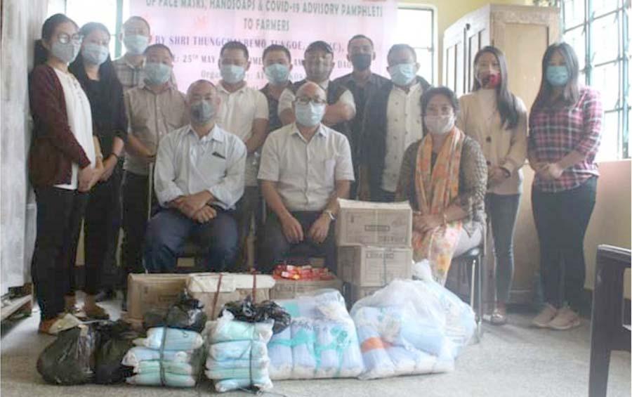 Covid 19 Hygiene Kits distribution programme at Mokokchung 1