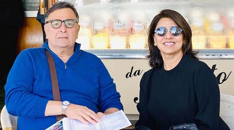 Neetu Kapoor quotes Gracie Fields' song to commemorate Rishi Kapoor's death