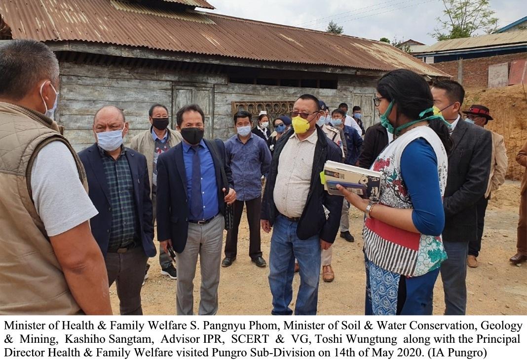 Pangnyu and others visits Pungro