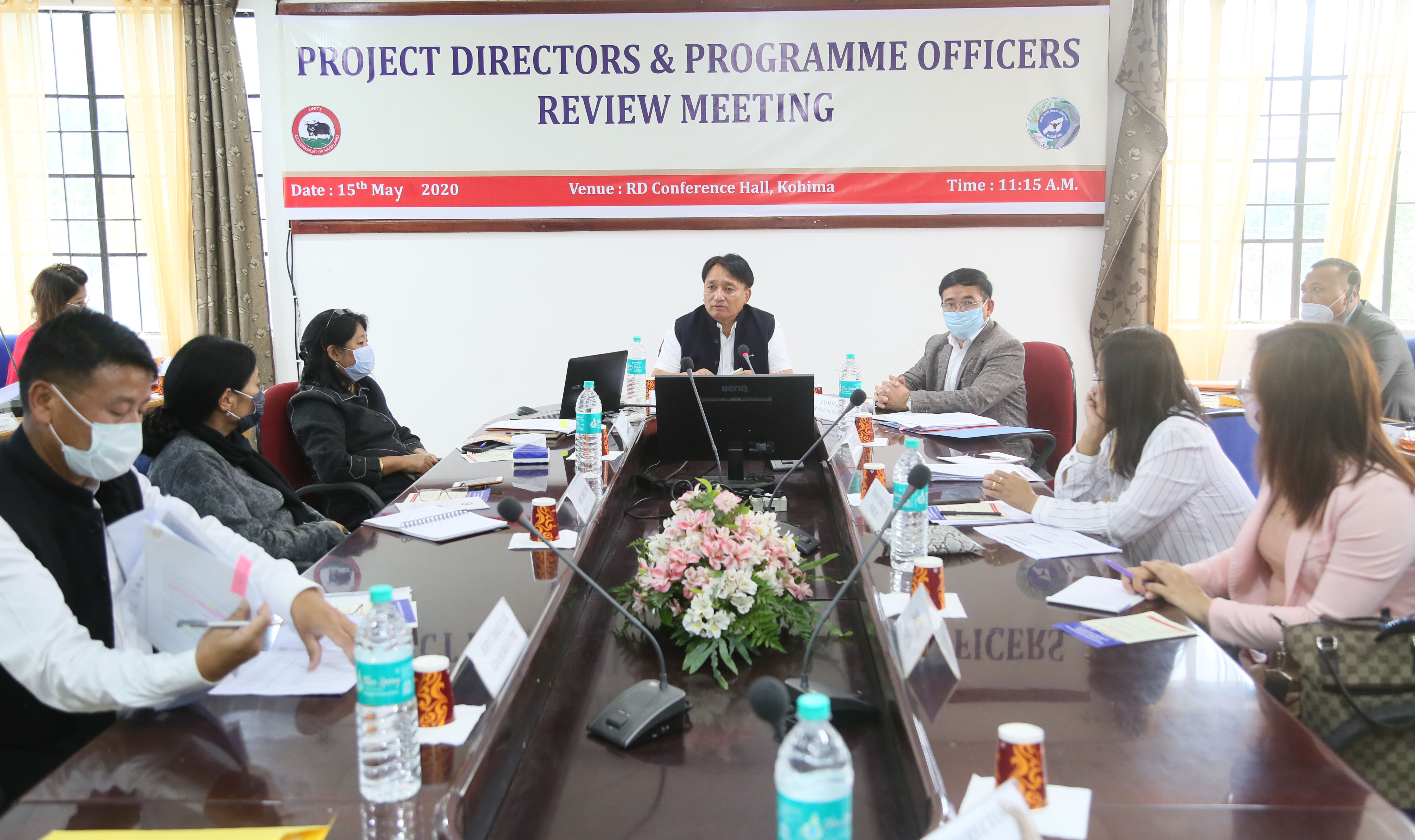 RD addressing the Meeting 1