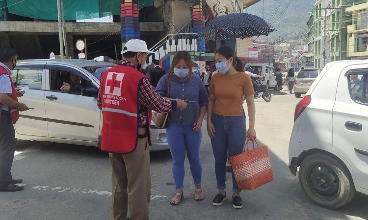 Red cross kohima