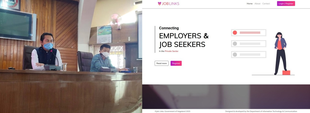 Joblink launches at Kohima