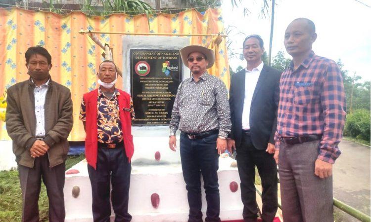 Khehovi laid foundation stone for development of pilgrimage inftrastructure in Nagaland
