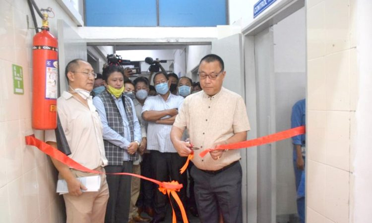 Pangnyu inaugurates BLS 2 at CISHR Dimapur