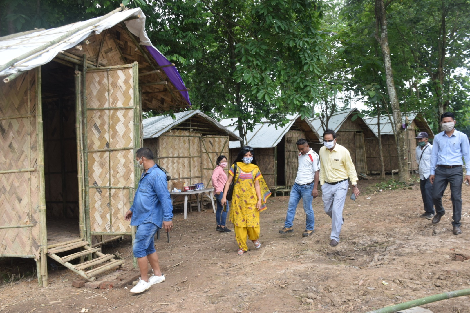 Quarantine huts