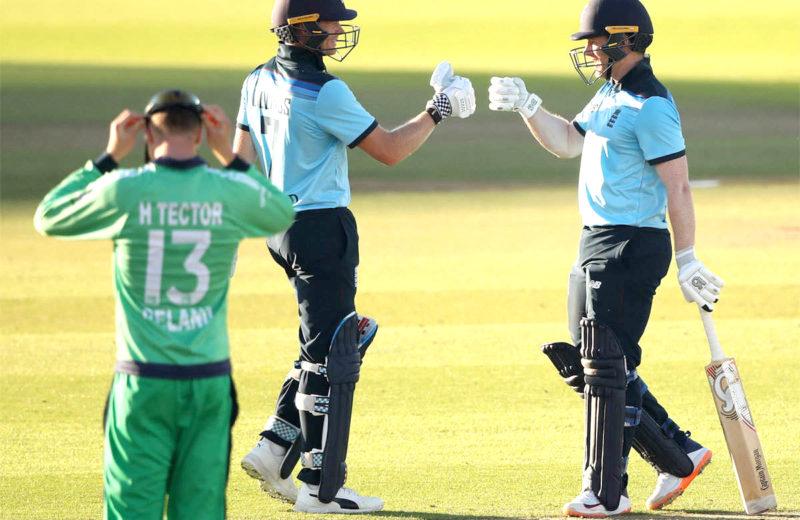 Brilliant Billings steers England to comfortable win over Ireland