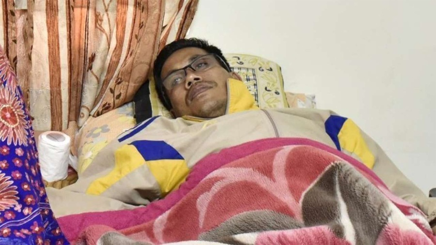 Cancer-stricken Dingko recovers from COVID-19, back at home in Imphal