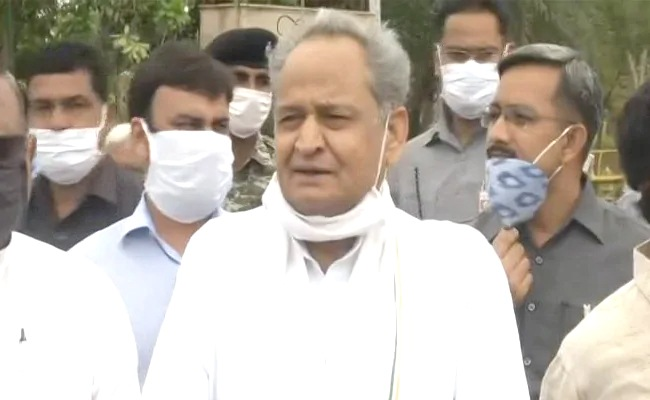 """Rajasthan: """"Got Love Letter"""": Ashok Gehlot, Snubbed, Says discussed Governor with PM"""