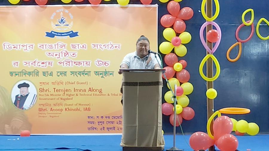 Imna Along bats for welfare of non-Naga students