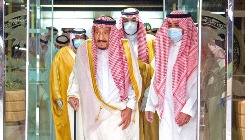 """Hosting limited Hajj required """"Double Efforts"""": Saudi King"""