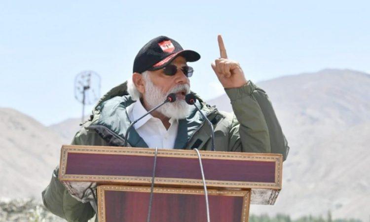 PM Ladhakh