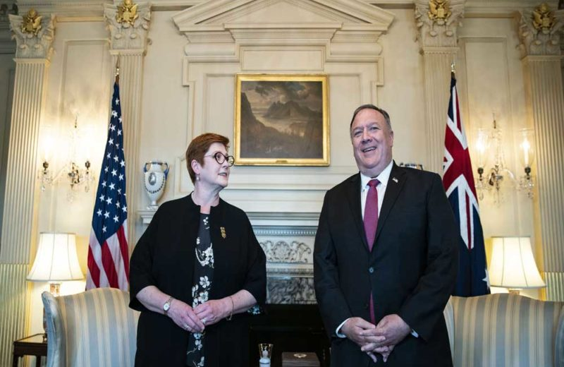 US, Australia team up to criticize China in Asia-Pacific