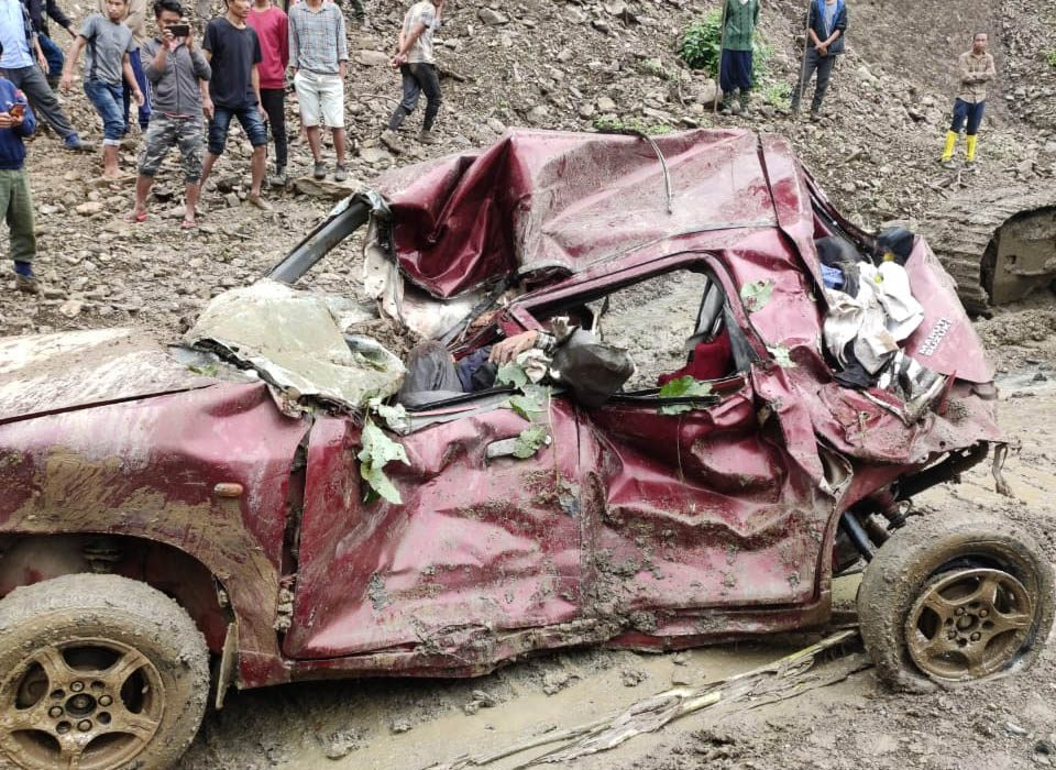 1 killed, another injured in  landslide at Sataka