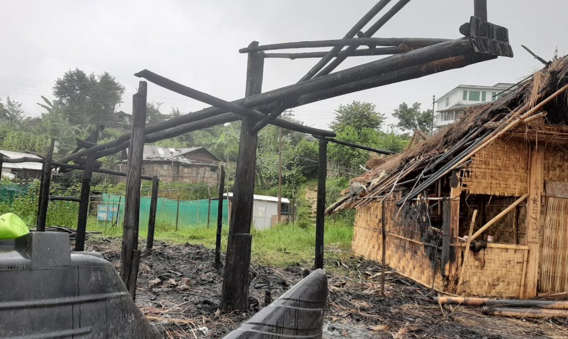Fire guts 1 Tuensang Town QC kitchen, 2 others partially burnt
