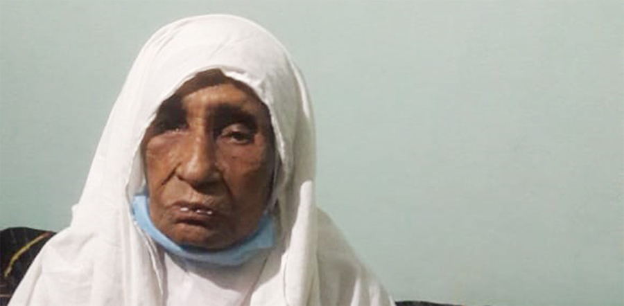 110 years old recovers