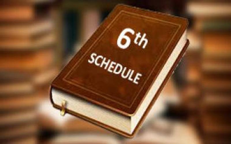 6th Schedule