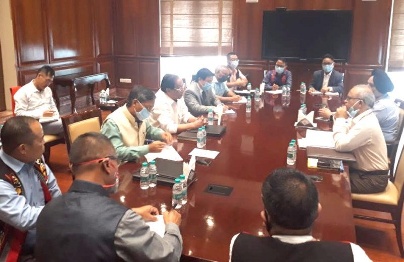Centre, NSCN (IM) holds talk in Delhi