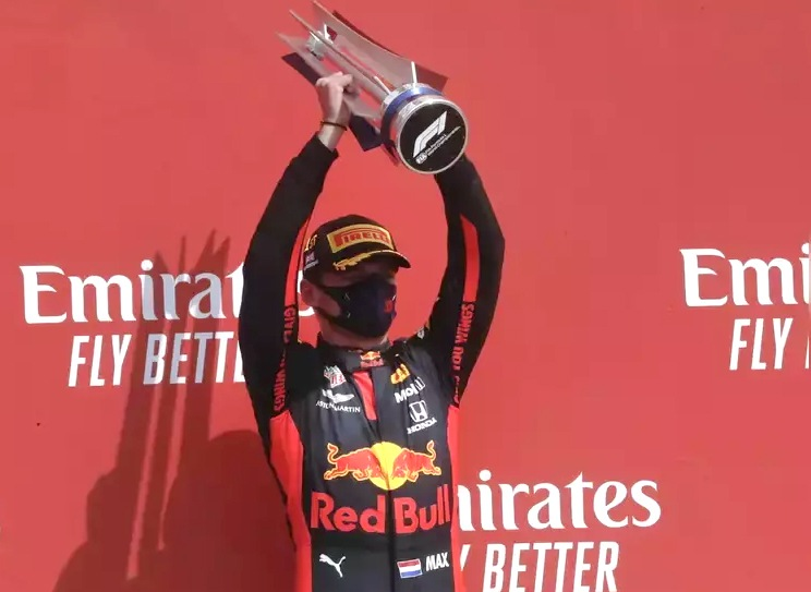 F1: Verstappen ends Mercedes' winning streak at 70th Anniversary Grand Prix
