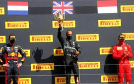 Lewis Hamilton wins record seventh British Grand Prix