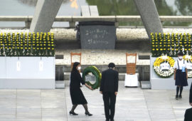 Hiroshima anniversary: Japan marks 75th anniversary of first atomic bomb attack