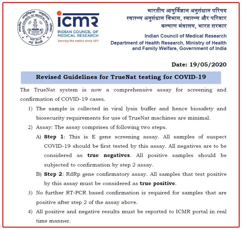 ICMR guidelines