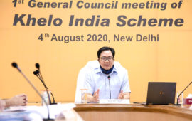 Actively organise state-level Khelo India Games to identify talent: Rijiju to states