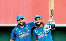 ODI rankings: Kohli, Rohit hold on  to top two batting spots