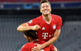 Champions League: Robert Lewandowski dazzles as Bayern Munich crush Chelsea to move into last eight