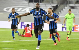 Inter Milan beats Leverkusen 2-1 to reach Europa League semi