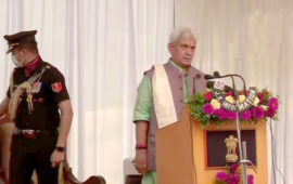 Manoj Sinha sworn in as Jammu and Kashmir LG, says he will prioritise dialogue with people and development