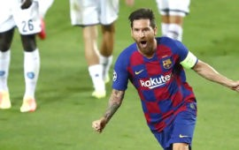 Champions League: Lionel Messi unstoppable as Barca beats Napoli to reach CL last 8