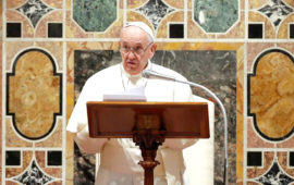 Pope decries  pandemic's culture of individuality