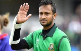 Shakib could return from ban in Bangladesh's tour of Sri Lanka