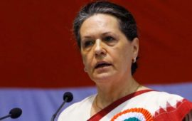 Sonia Gandhi asks Congress-ruled states to override Centre's farm laws