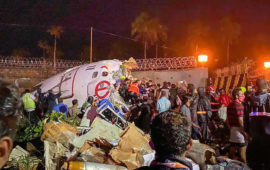 16 killed, many injured as AIE flight overshoots runway and falls into valley