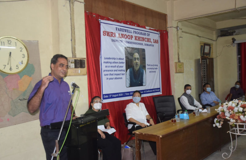 Dimapur bids adieu to outgoing DC