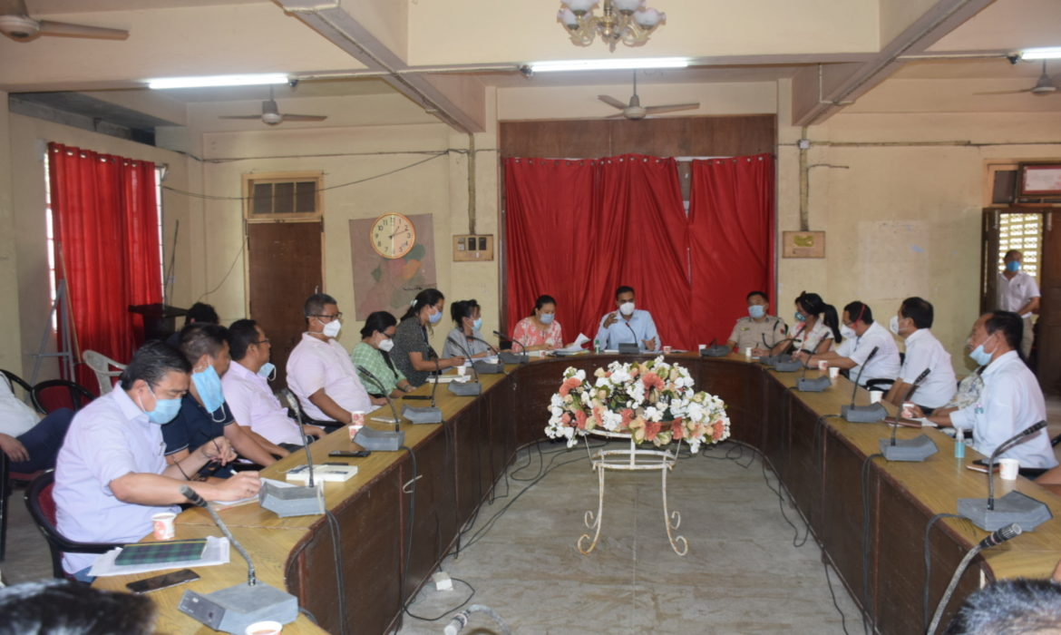 New DC open to calibrated reopening of Dimapur