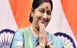 Leaders remember Sushma Swaraj on her first death anniversary