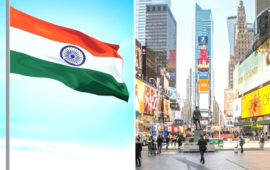 In a first, Indian tricolour to be hoisted at iconic Times Square in NY