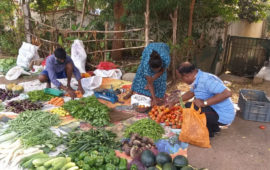 Vegetable price sky rockets in Dimapur