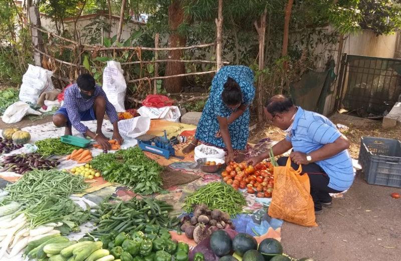 Vegetable price sky rockets in Dimapur