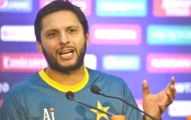 Afridi rues absence of Pakistani players in IPL